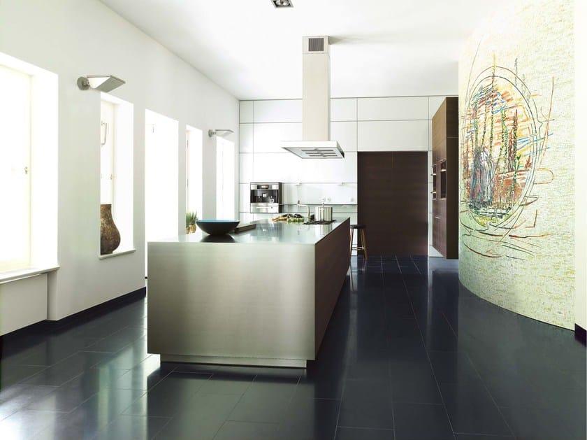 B3 | Cucina in alluminio By Bulthaup