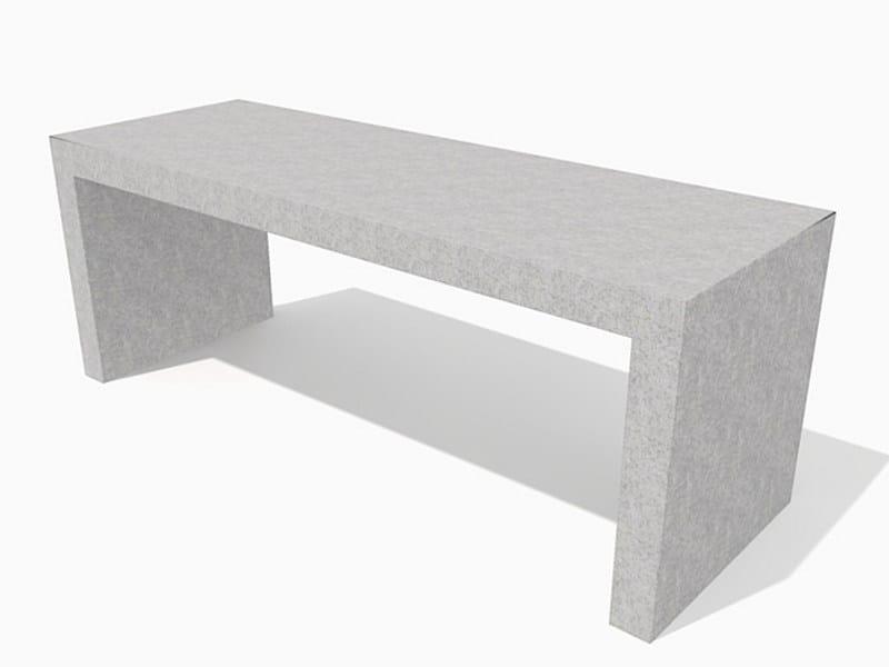 Concrete Table for public areas BLOC CONCRETE | Table for public areas by Factory Furniture