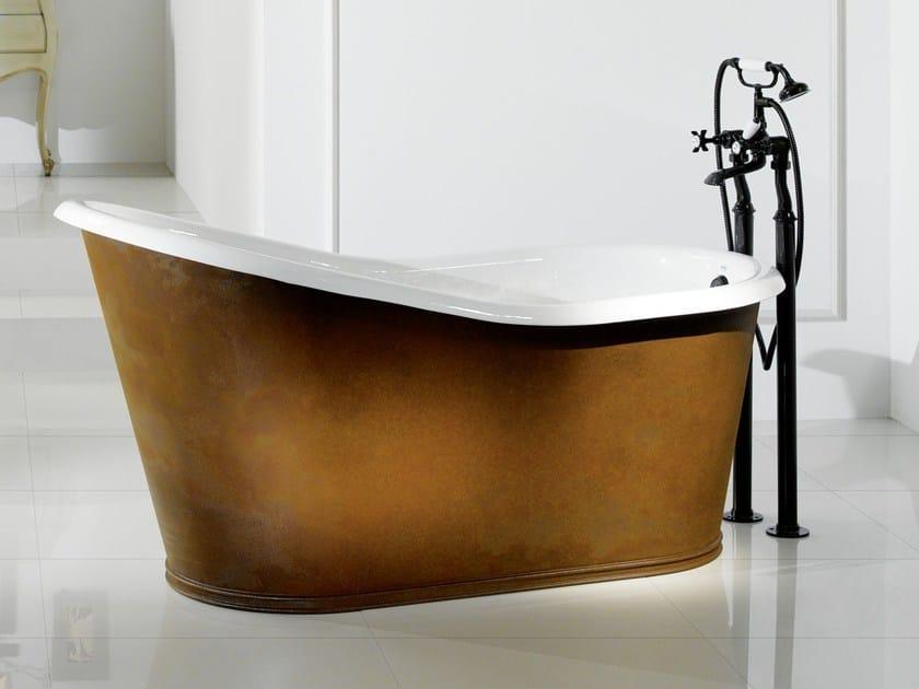 Vasca Da Bagno Ghisa : Vasca da bagno in ghisa old lavande copper by bleu provence