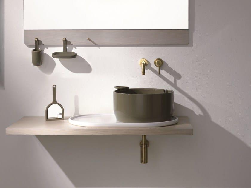 Washbasin countertop UKIYO-E   Washbasin countertop by Olympia Ceramica