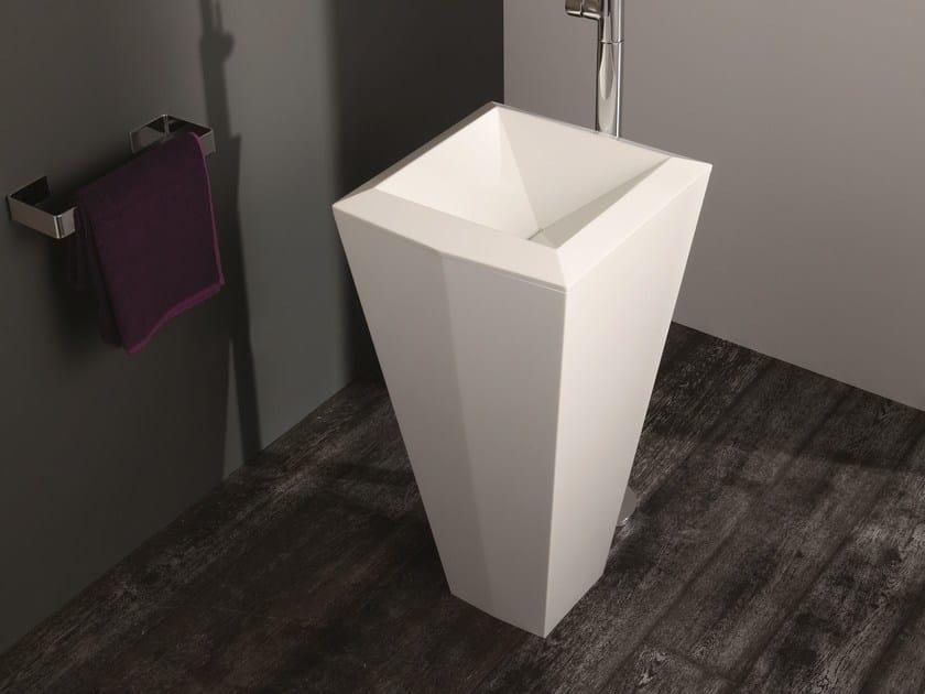 Freestanding Livingtec® washbasin CRYSTAL | Freestanding washbasin by Olympia Ceramica