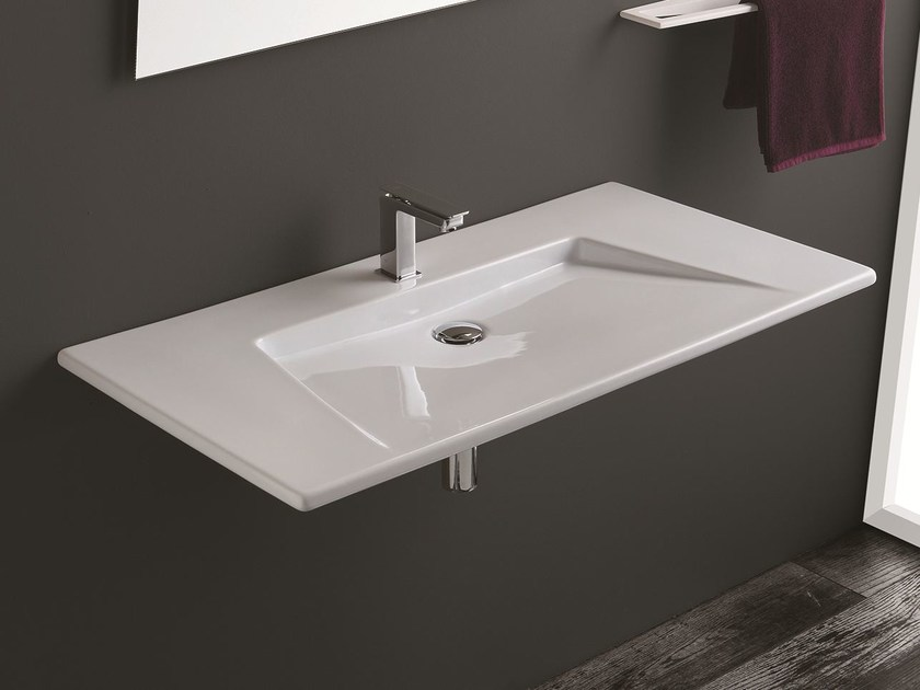 Attractive Wall Mounted Washbasin CRYSTAL | Washbasin By Olympia Ceramica Ideas