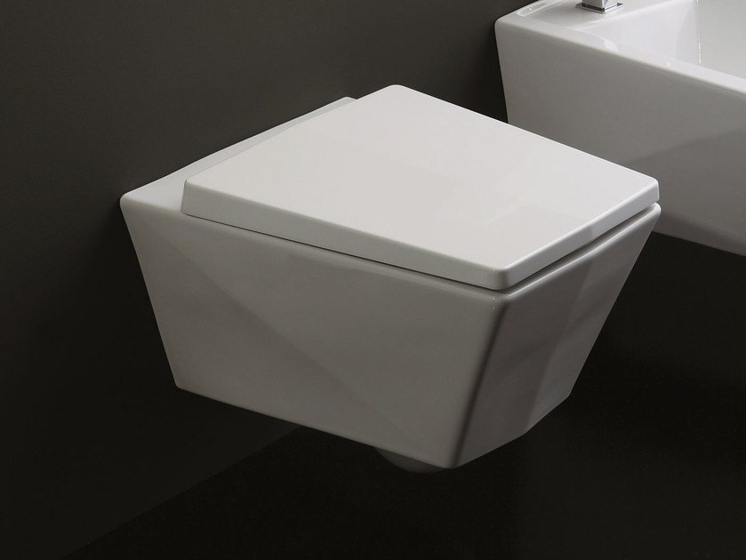 Wall-hung toilet CRYSTAL | Wall-hung toilet by Olympia Ceramica