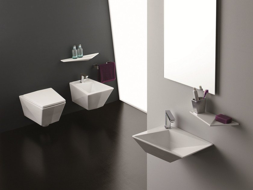 Wall Hung Bidet CRYSTAL | Wall Hung Bidet By Olympia Ceramica