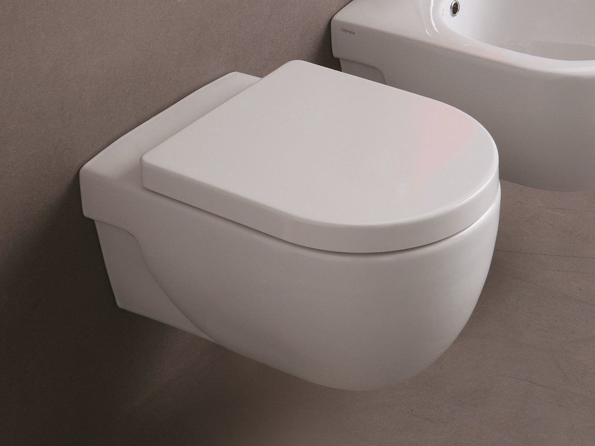Wall-hung toilet NICOLE | Wall-hung toilet by Olympia Ceramica