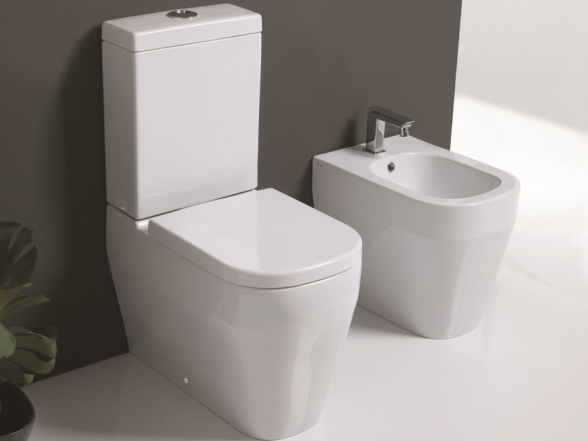 Close coupled toilet TUTTO EVO | Close coupled toilet by Olympia Ceramica