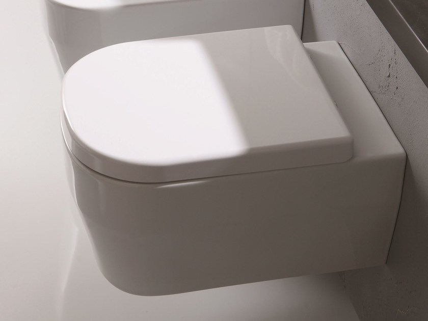 Wall-hung toilet TUTTO EVO | Wall-hung toilet by Olympia Ceramica
