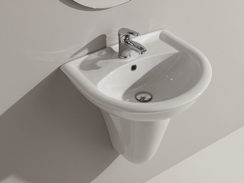 Wall-mounted washbasin FEDERICA | Wall-mounted washbasin by Olympia Ceramica