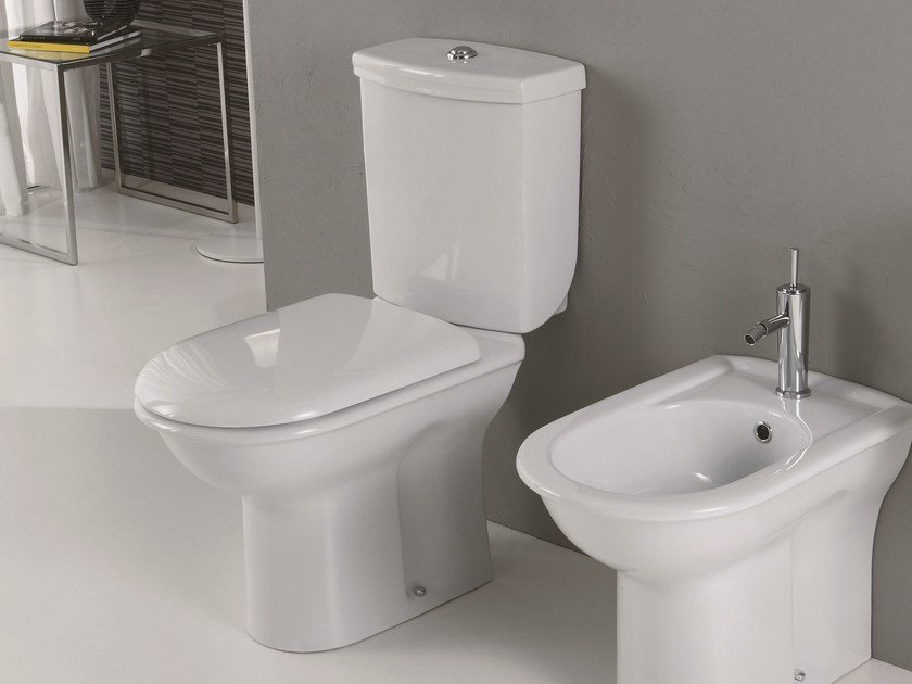 Close coupled toilet FEDERICA | Close coupled toilet by Olympia Ceramica