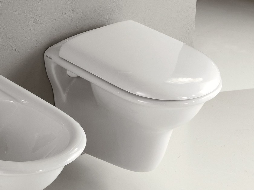 Wall-hung toilet FEDERICA | Wall-hung toilet by Olympia Ceramica