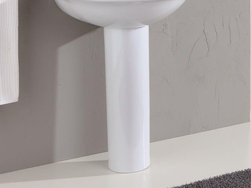 Washbasin pedestal FEDERICA | Washbasin pedestal by Olympia Ceramica