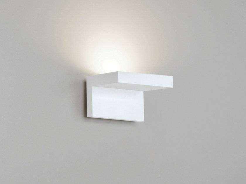 Design LED indirect light wall light STEP W0 by Rotaliana