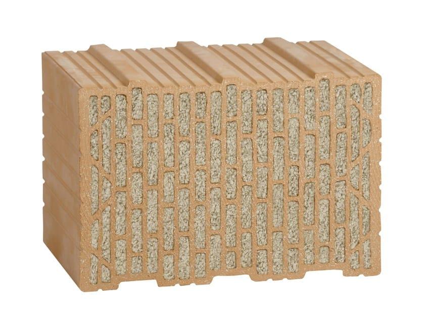 Loadbearing clay block UNIPOR WS09CORISO by LEIPFINGER-BADER