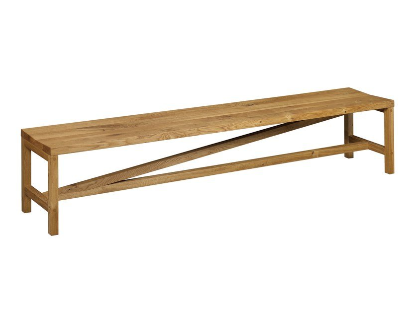 Wooden bench SITZ by e15