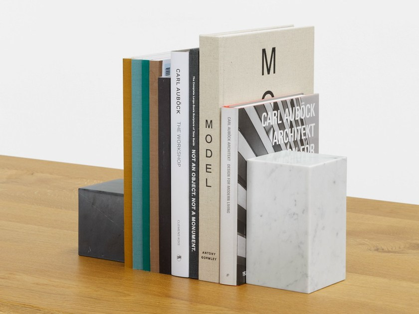 Marble bookend STOP by e15