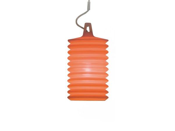 Lampada a sospensione per esterno in silicone LAMPION H1 by Rotaliana