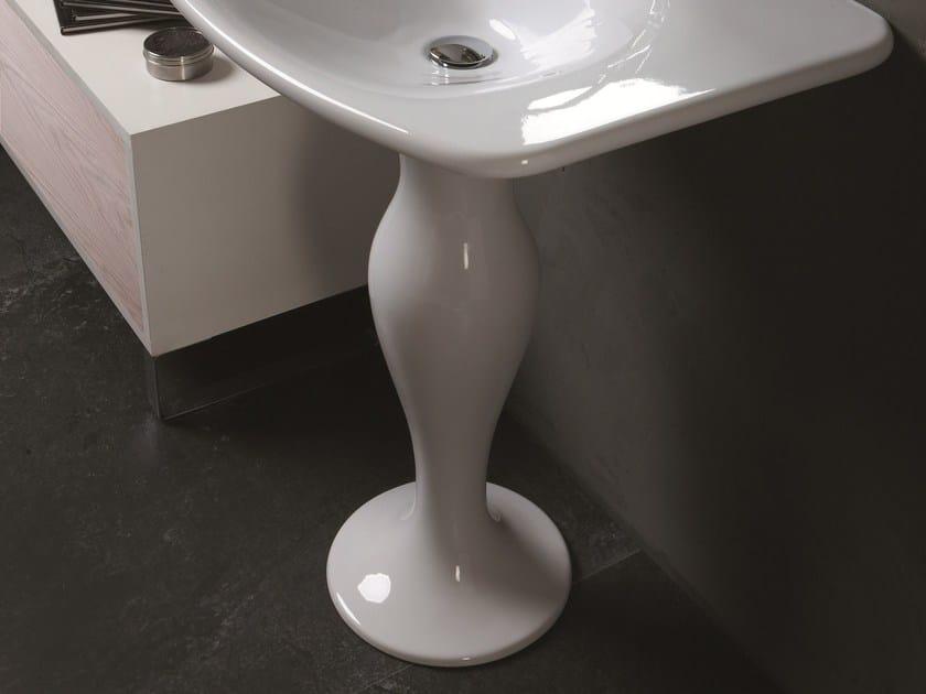Ceramic washbasin pedestal FORMOSA | Washbasin pedestal by Olympia Ceramica