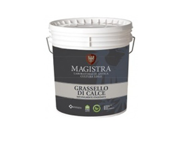 Natural plaster for sustainable building GRASSELLO DI CALCE by Magistra