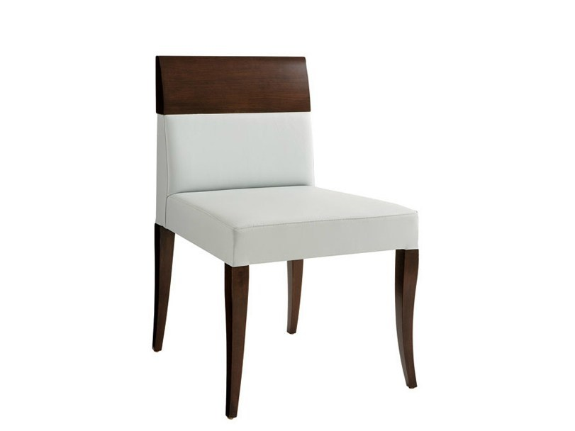 Upholstered chair SOLITAIRE by SELVA