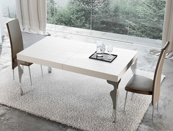 Extending wooden table LUXURY | Extending table by RIFLESSI