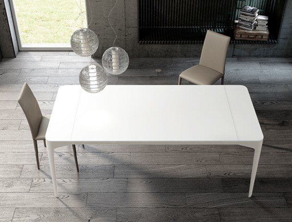 Extending dining table CORNER   Extending table by RIFLESSI