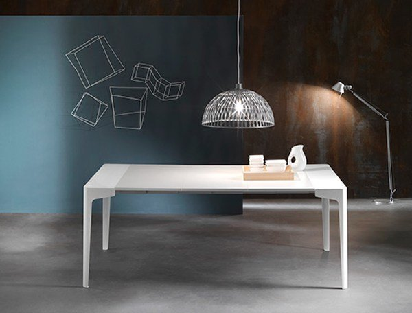 Extending rectangular console table CORNER | Extending console table by RIFLESSI