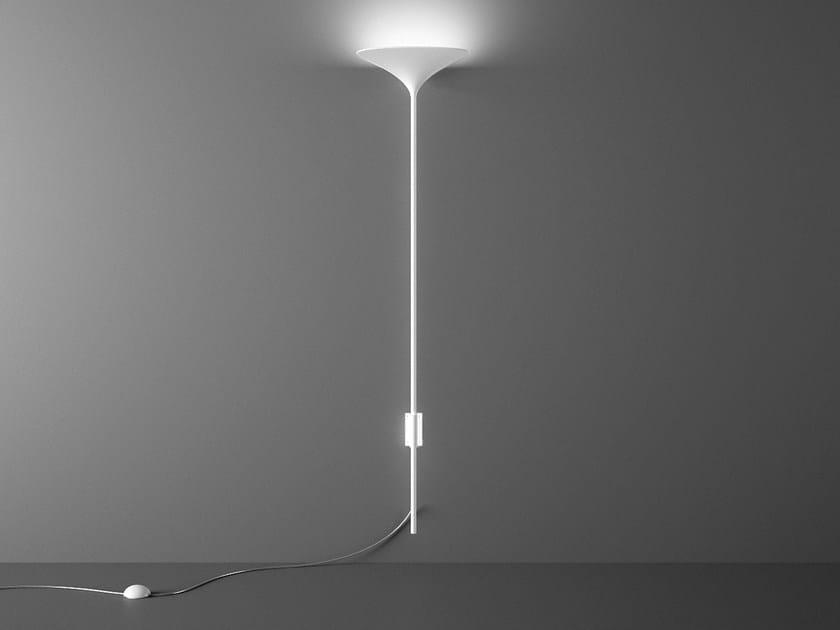LED aluminium wall lamp SUNSET W1 by Rotaliana