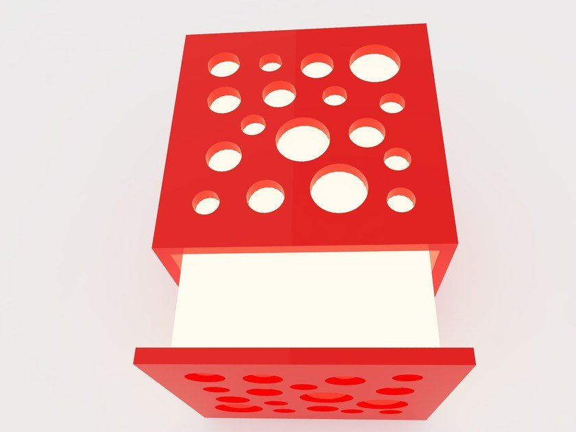 LED direct-indirect light wall lamp CUBE | Wall lamp by Zuri Design