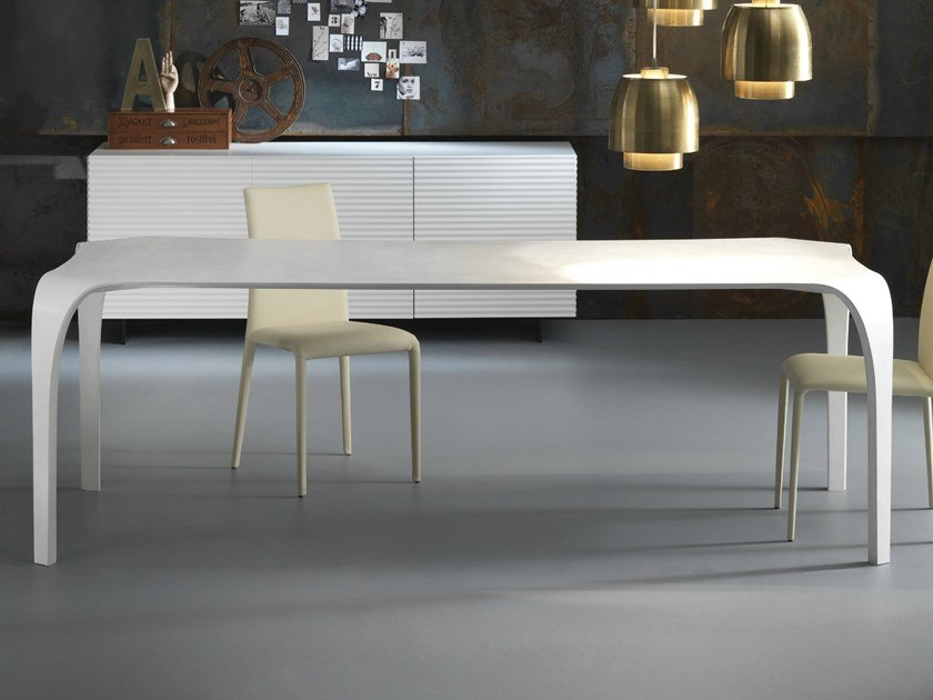 Rectangular Tecnoril® kitchen table