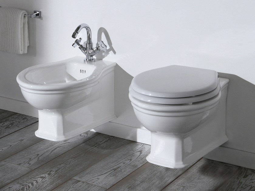 Neoclassical style toilet / bidet IMPERO STYLE | Toilet by Rubinetteria Giulini