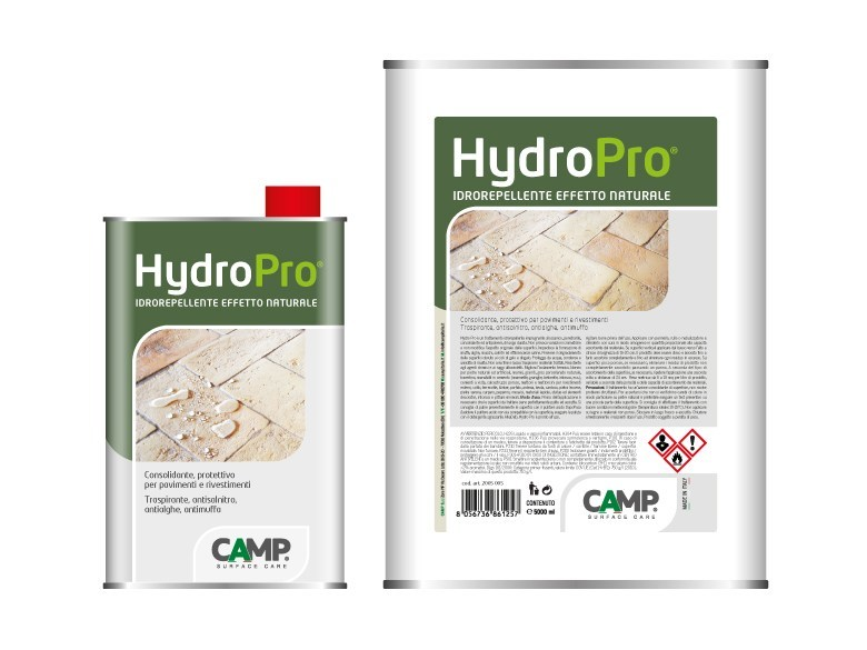 Flooring protection / Surface water-repellent product Hydro Pro® by CAMP