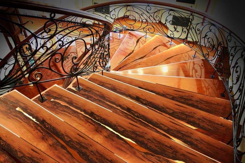 Scaletta In Legno Antica : Scala a giorno in legno di briccola briccole scala a giorno