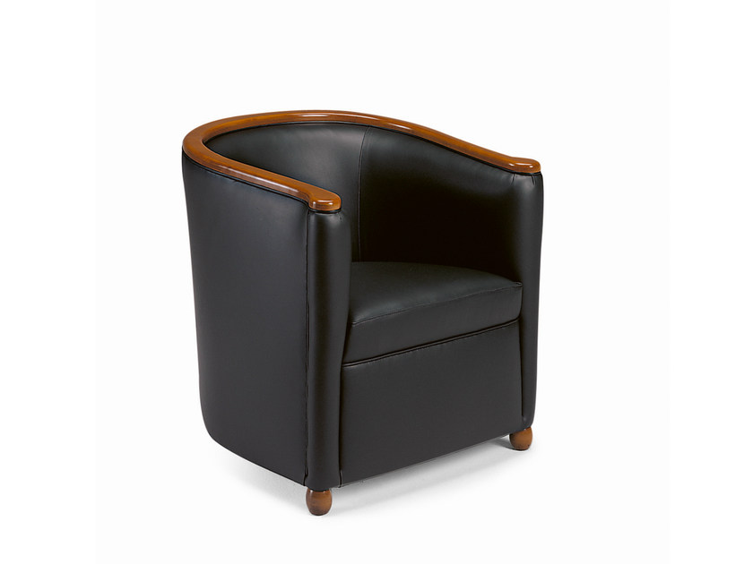 Upholstered armchair WILLIAM by SELVA