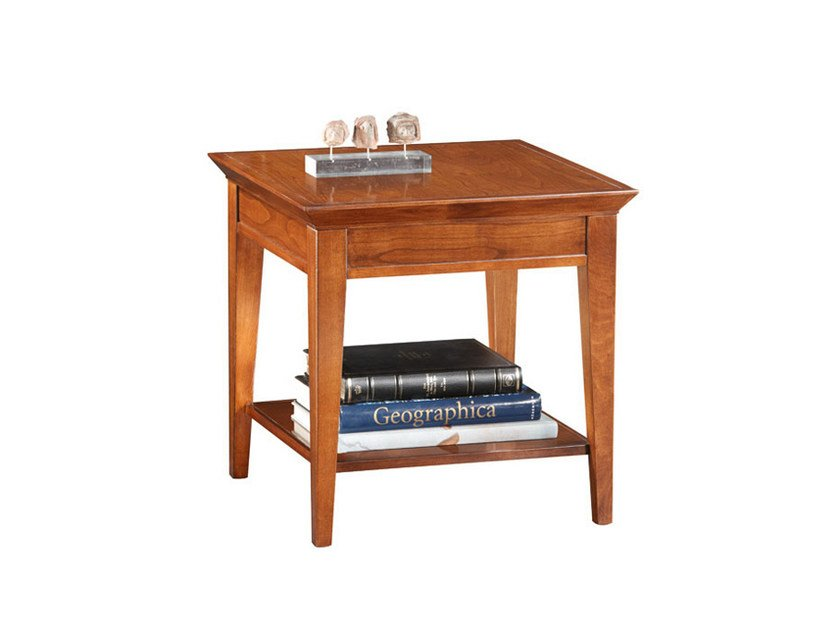 Square wooden coffee table for living room SOPHIA   Coffee table for living room by SELVA