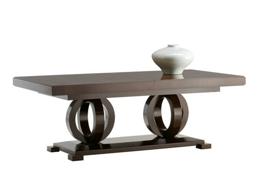 Rectangular wooden table TOSCA | Table by SELVA