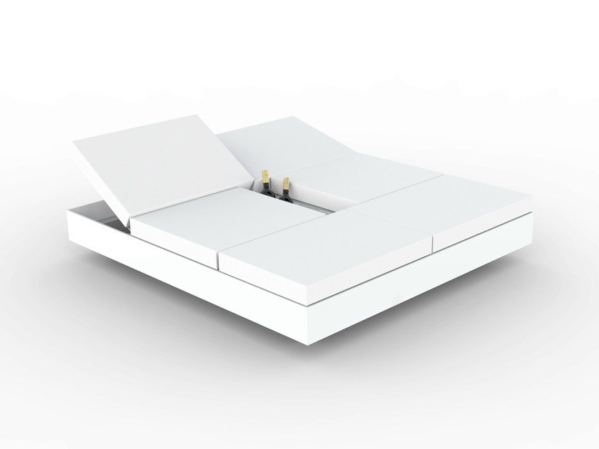 Cama de jardín reclinable DAYBED VELA by VONDOM