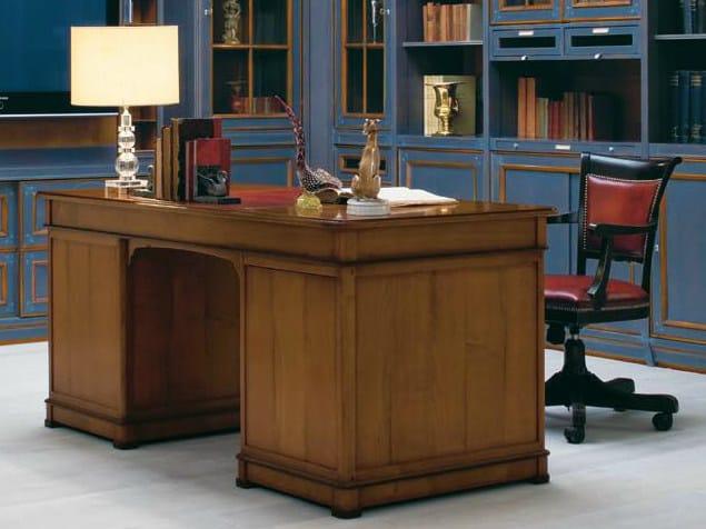 Venetian style solid wood secretary desk LE STANZE DEL DOGE | Secretary desk by GD Arredamenti
