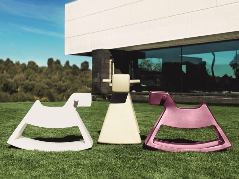 Cavallo A Dondolo Design.Cavallo A Dondolo Rosinante By Vondom Design Eero Aarnio