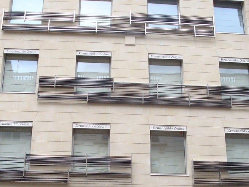 Parapetto per finestre e balconi BALAUSTRE A DISEGNO by YDF