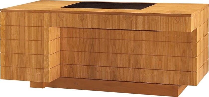 Cassetti '900 RomaScrivania Ciliegio Con Morelato In F3lJuTcK1