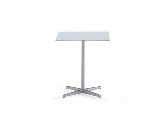 Square contract table TEA TABLE | Square table by YDF