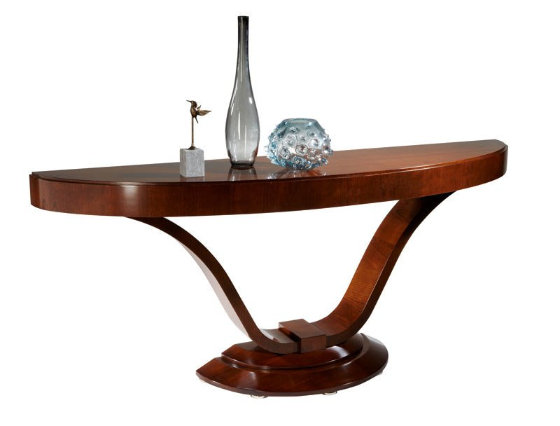 Classic style cherry wood console table VICTORIA | Console table by SELVA