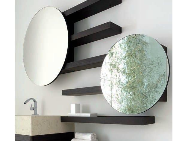 Bathroom mirror WENGÈ | Bathroom mirror by GD Arredamenti