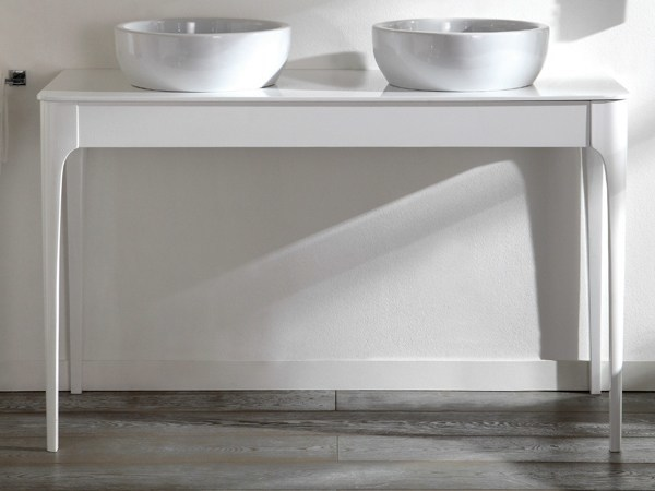 IMPERO | Console sink with drawers By Olympia Ceramica design ...