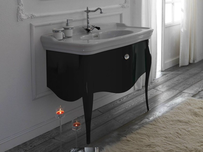 Vanity unit with drawers IMPERO   Vanity unit with drawers by Olympia Ceramica