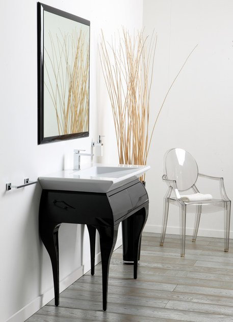 Wooden vanity unit with drawers CRYSTAL | Vanity unit with drawers by Olympia Ceramica
