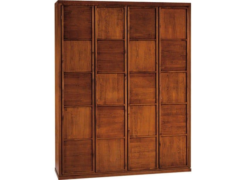 Wooden wardrobe SCACCHI | Wooden wardrobe by Morelato