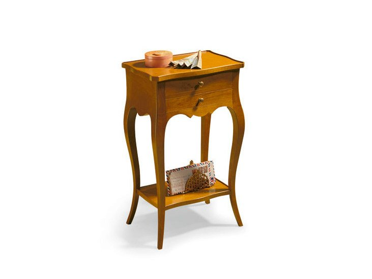 Wooden bedside table with drawers DAISY by SELVA