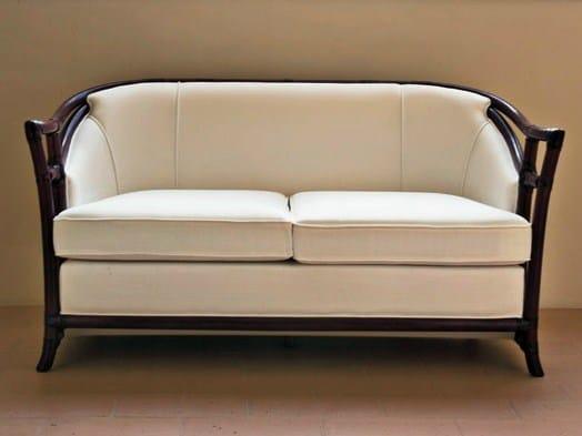 2 seater rattan sofa IRIS | 2 seater sofa by Dolcefarniente