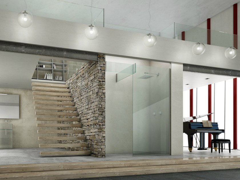 Niche glass shower cabin ICONA NICHE SEPARÈ by MEGIUS